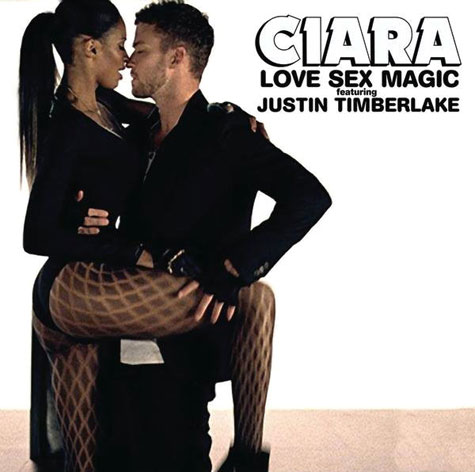 Ciara Love Sex Magic Album Cover 65