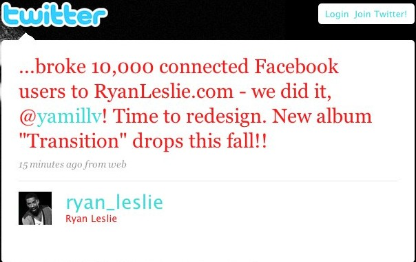 ryan leslie new album
