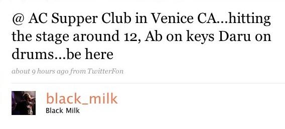 black milk venice