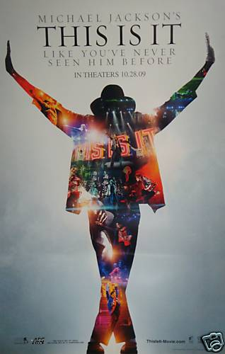 mj this is it movie poster