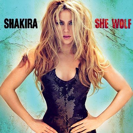 Shakira Gypsy Album Cover Shakira she wolf album cover  Shakira