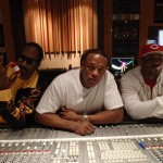 Dr. Dre, Snoop Dogg & The Game In The Studio (Pic)