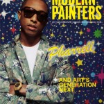 Pharrell Covers Modern Painters Magazine (Dec / Jan Issue)