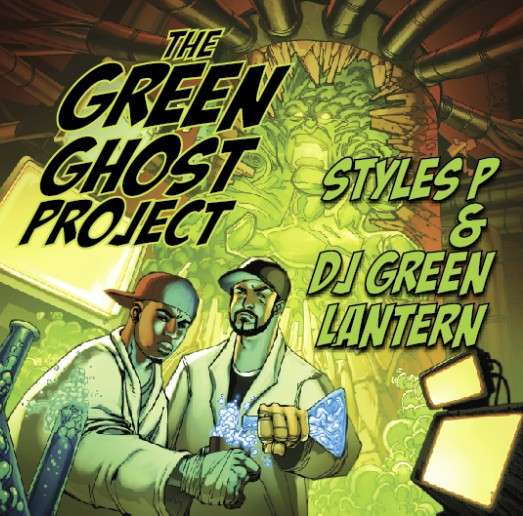 styles p green lantern green ghost project