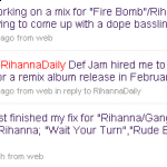 Rated R Remix Album In February?