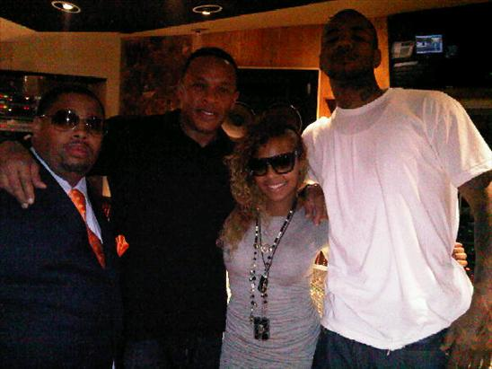 in the studio game x ashanti x dr dre pic hiphopnmore