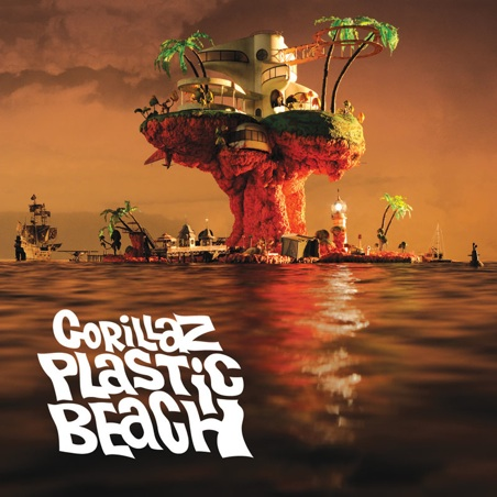 gorillaz plastic beach album cover