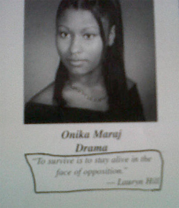 nicki minaj high school