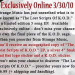 Tech N9ne – <em>The Lost Scripts Of K.O.D.</em> (Artwork & Info)