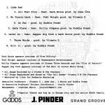 J. Pinder – 'Code Red' EP