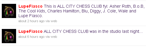 lupe all city chess club tweet