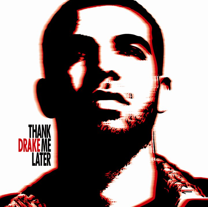 Image result for drake thank me later album cover