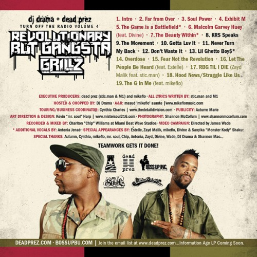 dead prez mixtape back