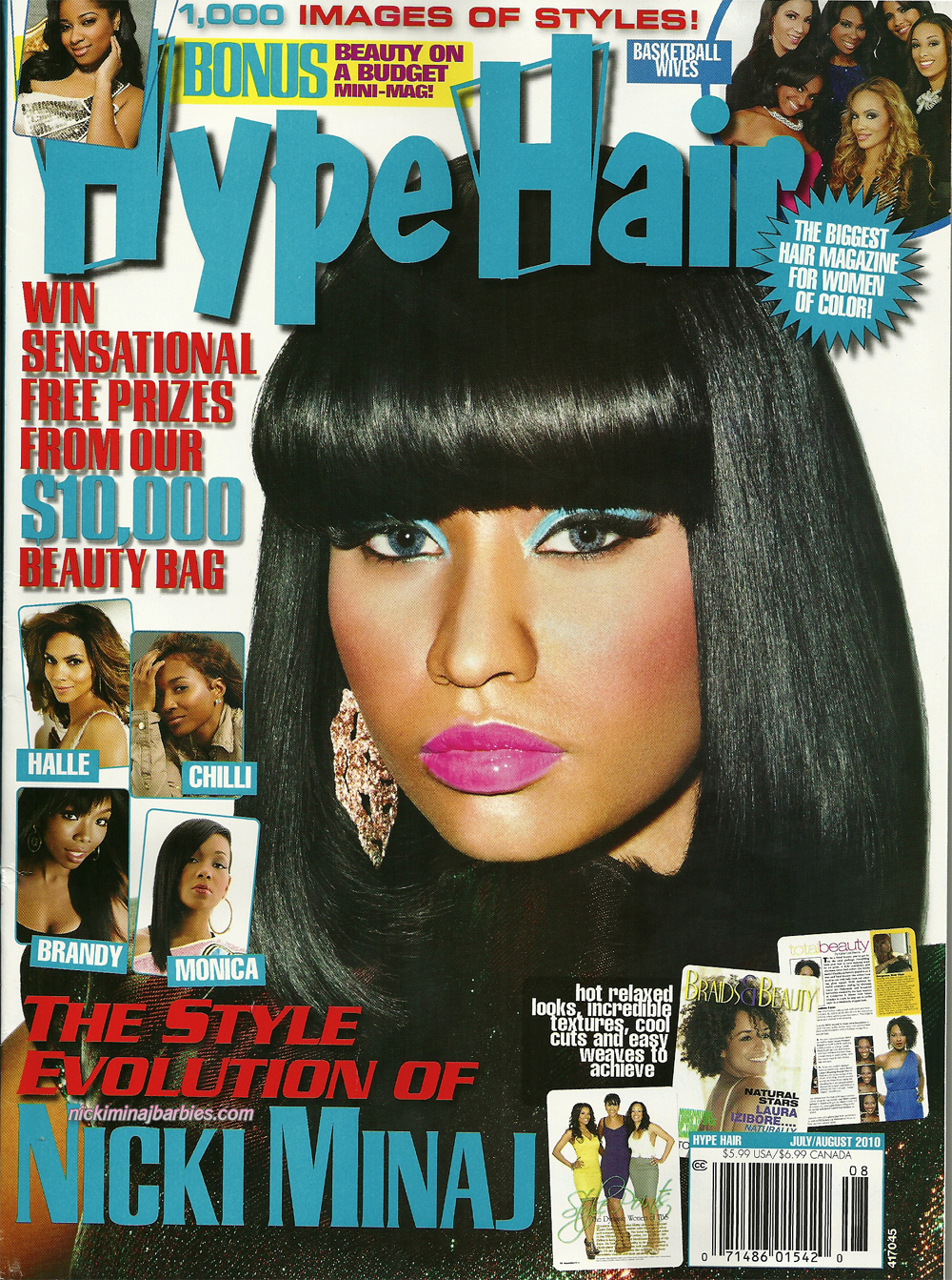 HYPE HAIR, THE ALL NEW, OCTOBER, 2014 (100'S OF WAYS TO STYLE YOUR HAIR ! )