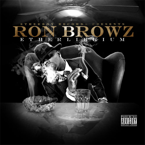 ron browz ETHERLIBRIUM cover