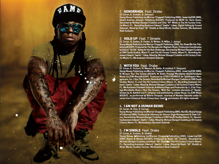 Lil Wayne's 'I Am Not A Human Being' First Week Sales Projections ...