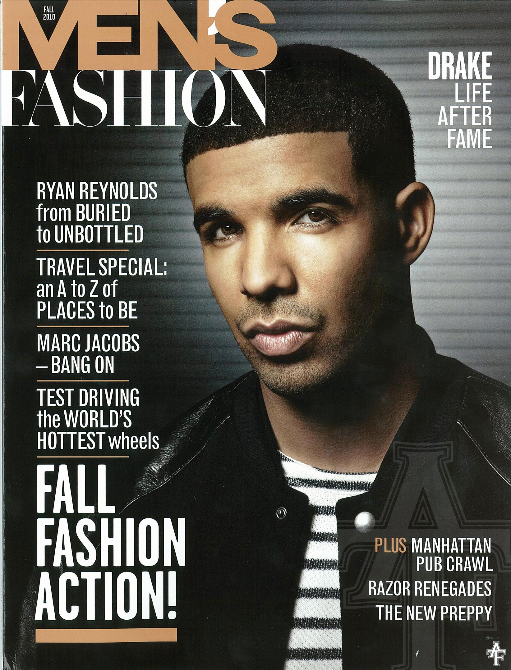 Drake Covers Men 39 S Fashion Magazine Hiphop N More