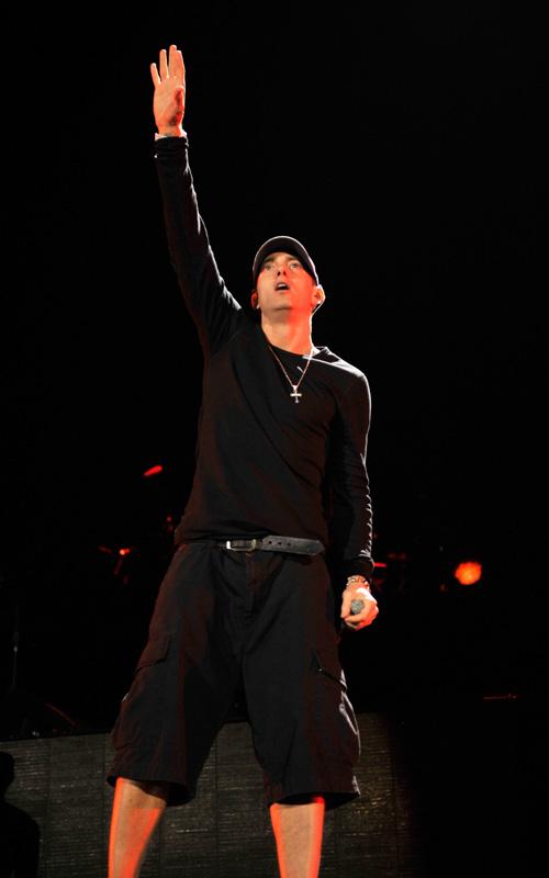 Eminem Interview On Shade 45 (Backstage At Yankee Stadium