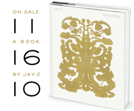 Jay zs decoded book cover hiphop n more the book which will be available november 16th will have illustrations and decode 36 of jay zs songs along with the hard cover edition of the book ebooks fandeluxe Image collections