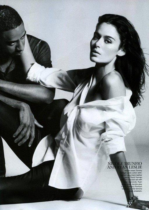 Ryan Leslie Amp Girlfriend Nicole Photoshoot For Vogue