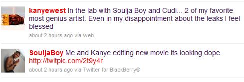 soulja kanye tweets