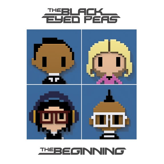 the black eyed peas album cover the beginning. Standard above, deluxe after the jump. Also check out: Black Eyed Peas