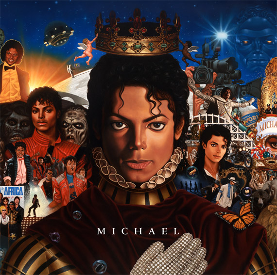 Prince Symbol On Michael Jacksons New Album Cover Hiphop N More