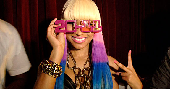 nicki minaj new years