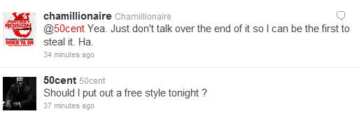 50 cham tweet