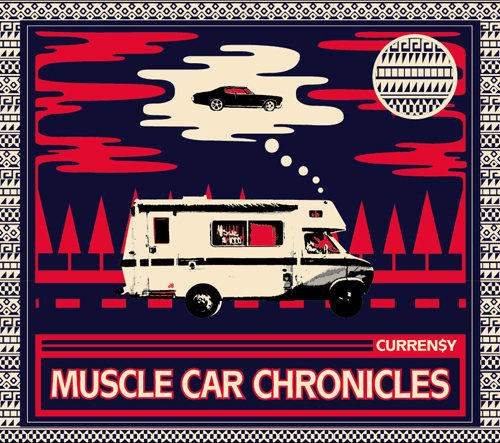 currensy muscle car album cover