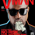 Kanye West Covers VMAN Magazine