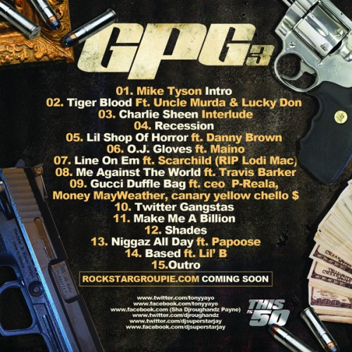 Tony Yayo GPG3 Back Cover 500x500