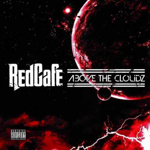 red cafe above the clouds