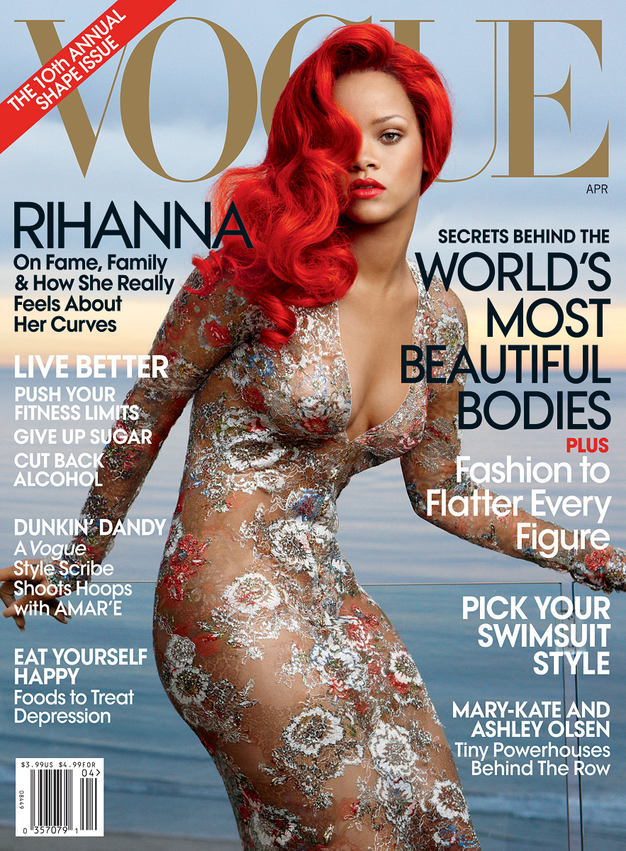 Rihanna X Vogue Cover Shoot Hiphop N More