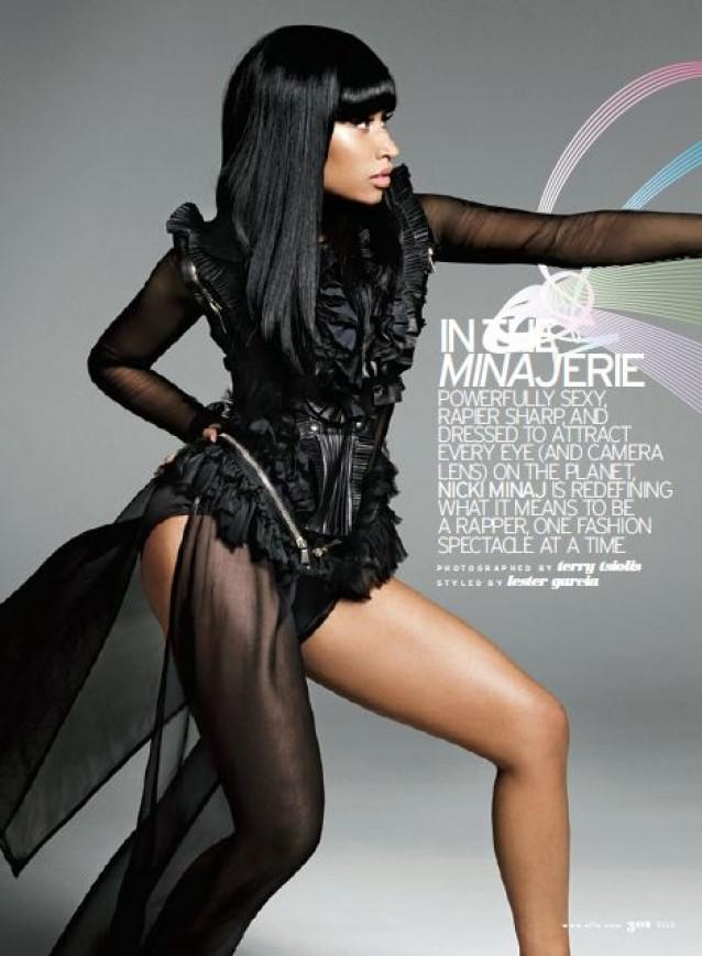 Nicki Minaj Covers Elle Magazine Hiphop N More