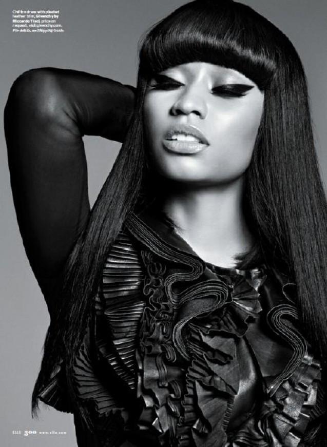 Nicki Minaj Elle Magazine 6 219x300
