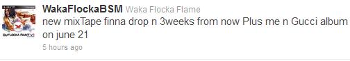 waka flocka release date