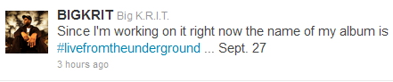big krit release date