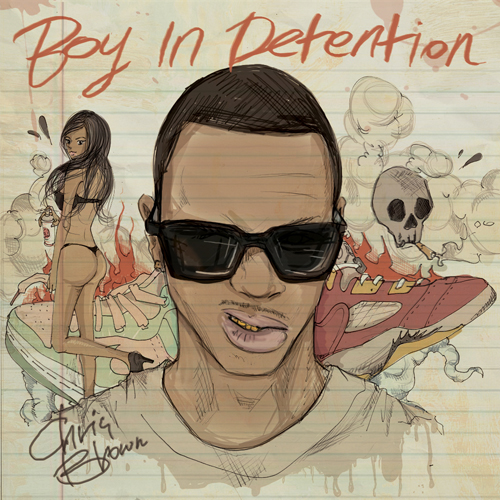 chris brown boy in detention
