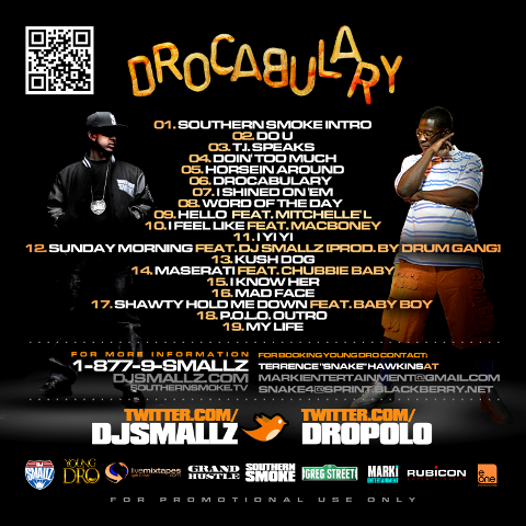 drocaulary back