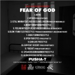 Pusha T – <i>Fear Of God II: Let Us Pray</i> EP (Artwork & Track List)