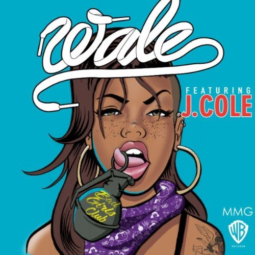wale bad girls club artwork