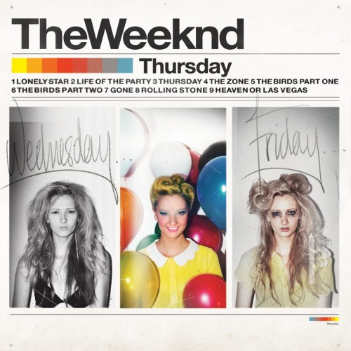 The Weeknd Thursday cover 500x500