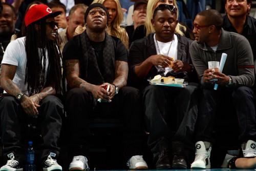 Lil Wayne Birdman Mack Maine Cortez Bryant 500x333