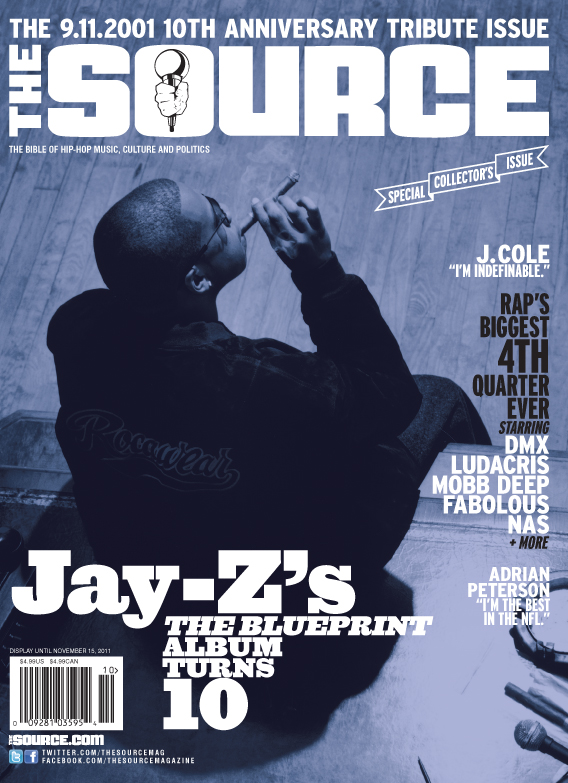 Jay z covers the source hiphop n more the source pays tribute to the classic jay z album the blueprint on malvernweather Image collections