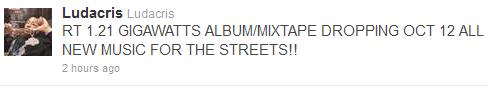 ludacris mixtape date