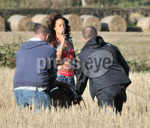On The Sets: Rihanna – 'We Found Love'