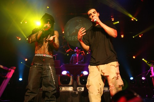 Drake and Lil Wayne 500x333