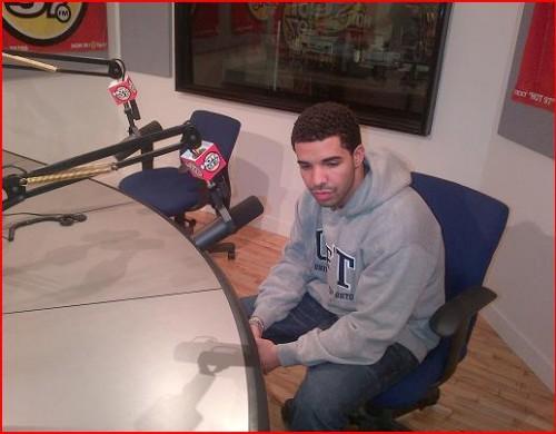 Drake on Hot 97 500x390