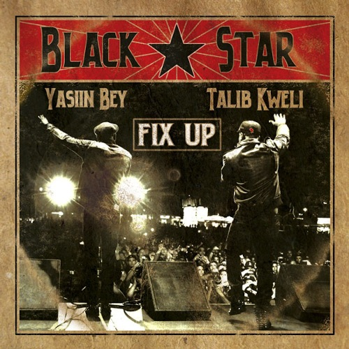 black star fix up artwork